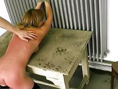 Painful, Pain, Extrem spanking, Extreme bondage