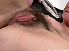 Veronica snow, Veronica, Work, Womanly, Womanizer, Masturbation hairy