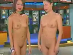 Striptease hairy, Shaving hairy, News naked, News, Naked news, Naked hairy