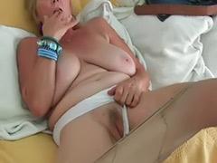 Tits granny, Tits granni, Pantyhose solo, Pantyhose granny, Pantyhose masturbation solo, Pantyhose masturbation