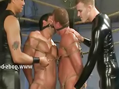 Rope sex, Strong, Leather, Gay leather, Roped, Leather gay