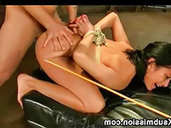 Bound fuck, Bound and fucked, Bound anal, Caned and fucked, Caned, Caneing