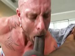 White guy, Struggling, Big white dick