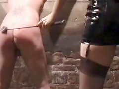 Whipping, Whip, Puts, Sissy bdsm, Sissie, Milf latex