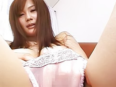 Asian model, Japanese solo masturbation, Erika