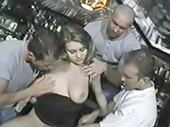Bar sex, Woman black, Woman cum, Public german, Public gangbang, Public facial