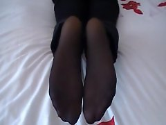 Stockings feet, Nylons, Nylon stocking, Nylon, Feet stocking, Feet stockings