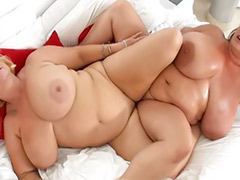 Fat-lesbian, Fat lesbians, Fat lesbian, Fat cock