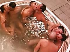 게이 수영장, 게이사우나