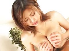 Asian titfuck