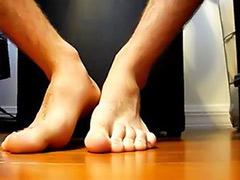 Teasing solo, Tease solo, Footjob tease, Foot solo, Foot male, Foot tease