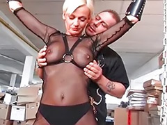 Threesome bondage, Milf bondage, Dominating milf, Bondage boobs