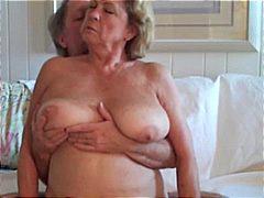 Granny, Big tits, Big