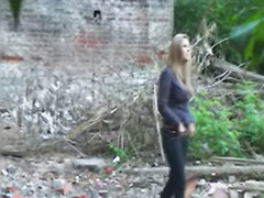 Èpissing, Russian solo, Russian beauty, Pissing solo, Pissing outdoor, Pissing girls