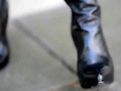 Upskirt public, Public upskirt, Public hooker, Public boots, High heels, Hookers