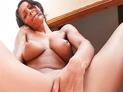 Solo busty pussy, Finger in pussy, Busty fingering