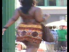 Voyeurs booty, Voyeur booty, Summer dress, Summer b, Jiggle, Ebony bbw