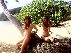 Lesbian beach, Beache, Beach lesbian, Beach amateur, Beach, Sandra