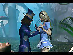Partı, Alice in wonderland, Alice, Parting