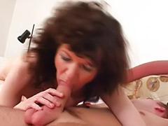 Harrietta, Black mature cums, Younger