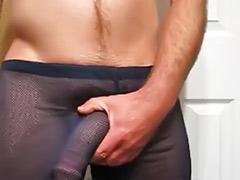 Gay pants, Big cock solo cum, Sheer