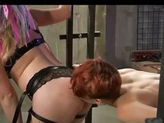 Tits bondage, Tit bondage, Toys bondage, Redhead lesbians, Redhead lesbian, Redhead double