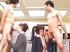 Office hot, Japanese officer, Japanese group blowjob, Japanese group, Hairy group, Group hairy