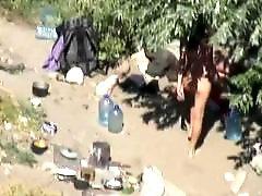 Nudist camp, Camp, Camping