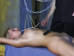 Threesome bondage
