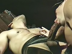 Leather sexy, Leather, Fetish leather, Gay leather, Gay domination, Anal bondage