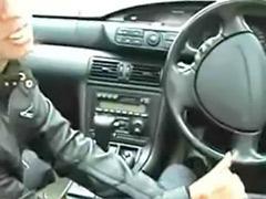 Handjob in car, Handjob car, Car handjob
