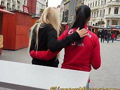 T-girls lesbian, Public,, Public lesbians, Public lesbian, Public boobs, Public