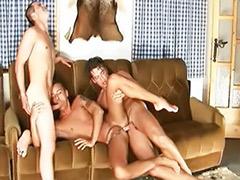 Bareback group gay, Cabin