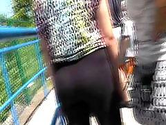Voyeur teen, Teen leg, Whale tail, Legs, Leggings, Leg