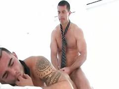 肌肉男肛交, 肌肉男性交, 黑毛做爱, 接吻