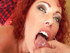 Redhead slut, Curly