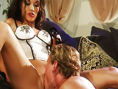 Passionate sex, Passionate couple, Passionate blowjob, Lingerie heels, High heel fetish, High heel femdom