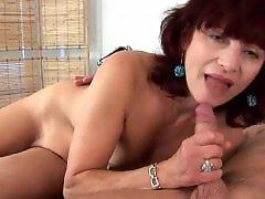 Young and old mature, Young and milf, Wanda milf, Wanda, Suck nipple, Sucking nipples