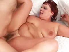Pussy liking, Granny cums, Granny cum, Cumming in pussy, Cum in pussy