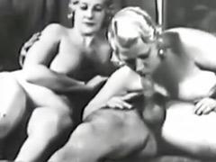 Vintage threesome, Threesome vintage, Vintage