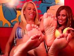 Rubbed, Rub, Pov feet, Pov milf, Stockings feet, Stockings milf