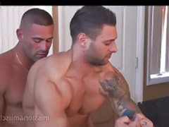 Tattoo gay, Tattoo anal, Muscled blowjob, Muscled, Muscle-sex, Muscle anal