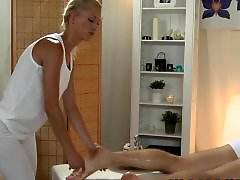 Young blond, Massages, Massageing, Massaged, Massage horny, Massage cock