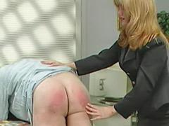 Spanked femdom, Femdom spanking, Spank femdom, Couple spanking femdom, Secretary
