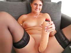 Too big, Stocking mature solo, Shaved mature solo, Shaved mature, Solo mature stockings, Mature shaved