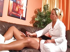 Tattoo german, Shaving german, Shaved mature, Nurse cum, Masturbating in heels, Mature tattoo