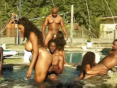 Party outdoors, Party outdoor, Party black, Party anal, Pool party, Sex the party