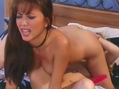 Lesbian strap on anal, Lesbian blonde asian, Lesbian anal strap-on, Lesbian anal strap on, Asian tattoo anal, Asian lesbian strap