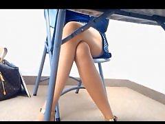 Voyeur upskirt, Upskirt voyeur, Upskirt tease, Teasing, Tease, Legs hot