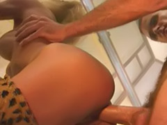 Tiger, Woman cum, Sex that đâm, Boots masturbation, Boots lick, Boots licking